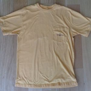 Tommy Bahama Tee w/Pocket Sz Med GOLD